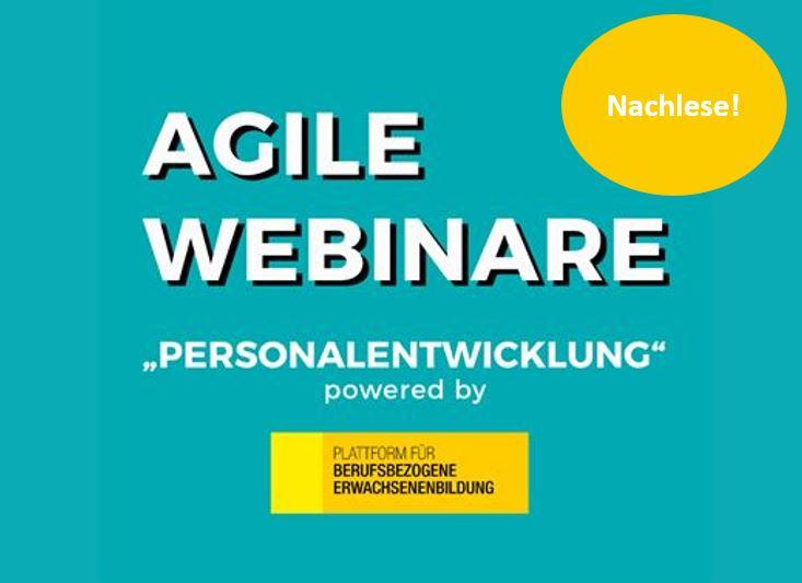 """Nachlese: Webinar """"Personalentwicklung"""""""