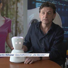Der Avatar ist ein Kommunikationsroboter, der es Kindern und Jugendlichen mit Langzeiterkrankungen ermöglicht am Unterricht und sozialem Leben teilnehmen zu können.