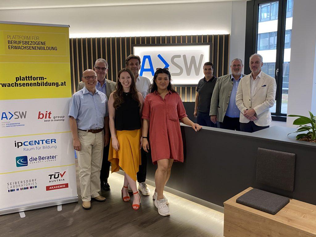 Der Plattform-Sommertreff im neuen Büro der Akademie der Steuerberater und Wirtschaftsprüfer